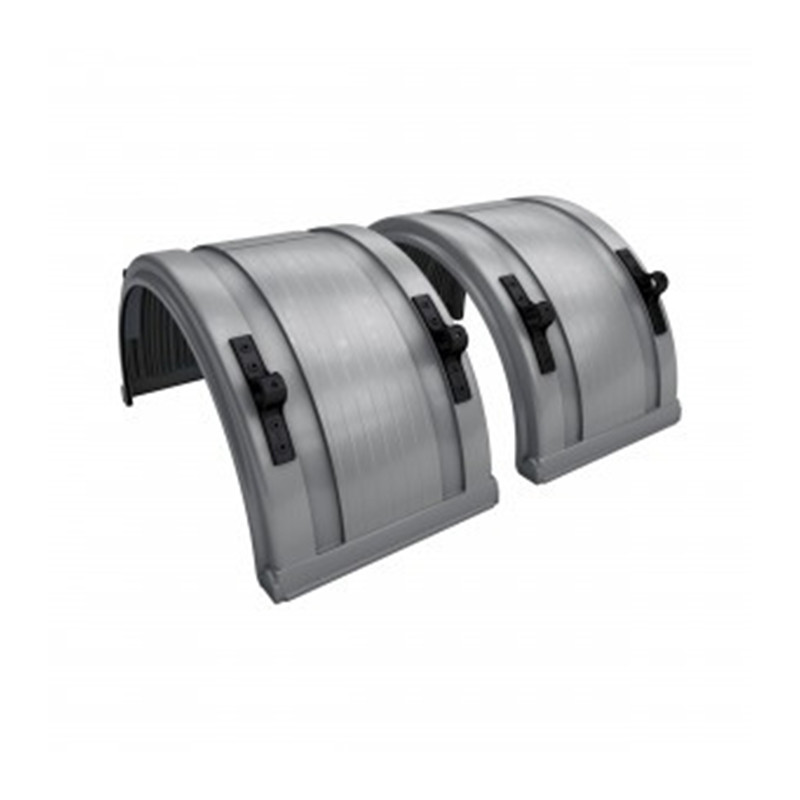 Big Truck Fenders Plastic : Grey spray master poly truck fenders for quot or