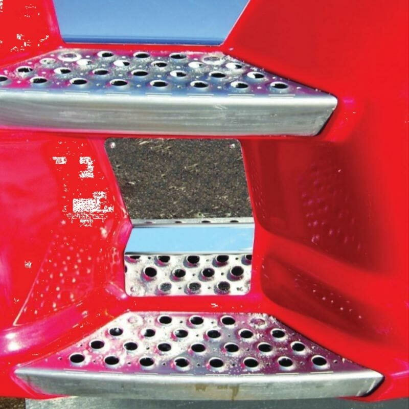 Kenworth T660 T680 T700 Lower Panel Back Step Trim On Truck