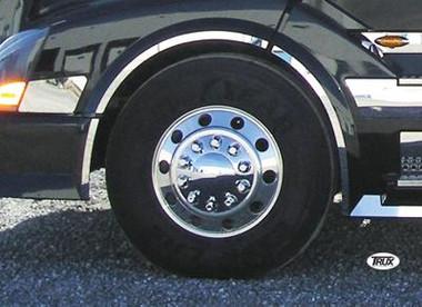 Volvo Vnl Front Wheel Fender Trim 2003 Amp Newer Stainless