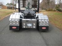 "Minimizer Poly Truck Fenders Tandem Axle 52"" Spread Liquid Platinum"