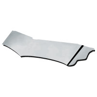 "Freightliner Classic Mid Roof 18"" Wicked Drop Visor - Blank"