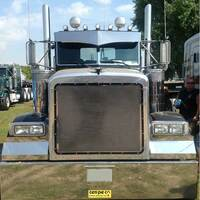 Wicked Peterbilt Visor