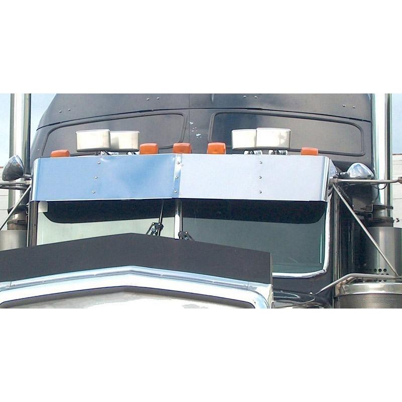 "13"" Kenworth W900 T800 T600 Drop Visor for Flat Windshield"