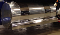 "Kenworth W900 Fuel Tank Fairing 73"""