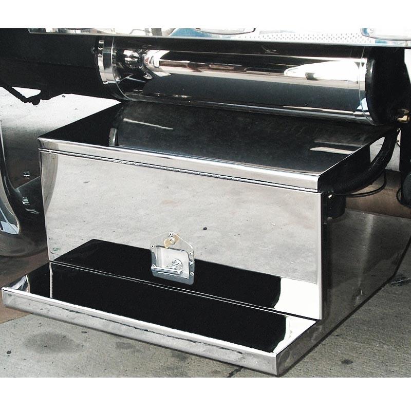 Peterbilt 379 388 389 Stainless Steel Tool Box