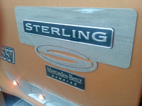 Sterling 9500 Series Logo Trim On Truck