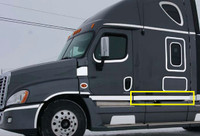 "Freightliner Cascadia 72"" Sleeper Panel with 12 Slotted Light Holes"