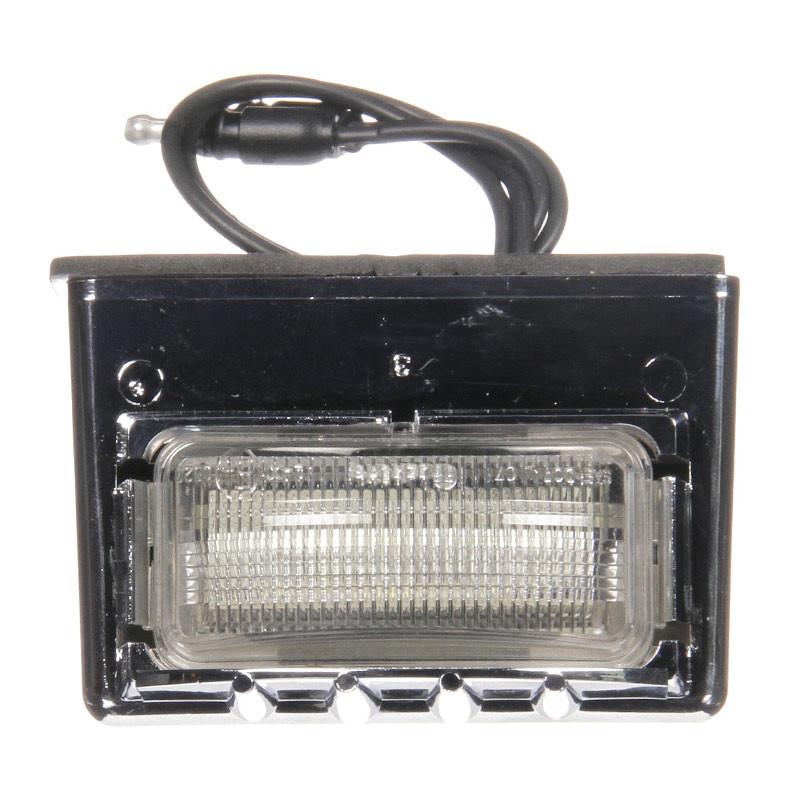 LED Model 15 License Lamp Kit Front