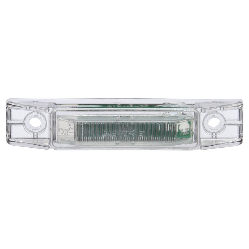 LED Model 35 Marker-Clearance Lamp 12v w/Clear Lens and Hsng 35201R Front