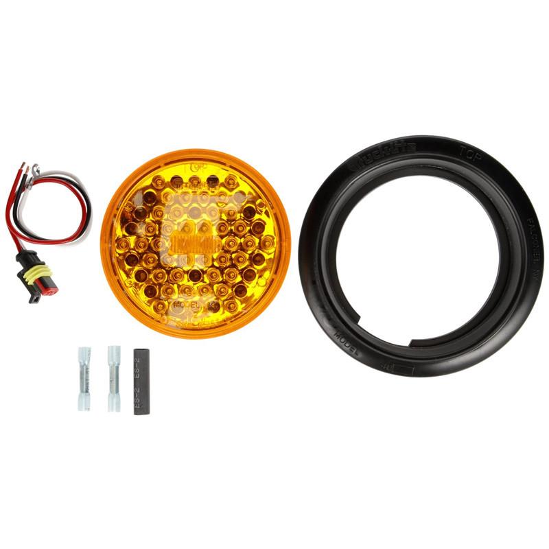 LED Model 44 Strobe Grommet Mount 44102Y Components