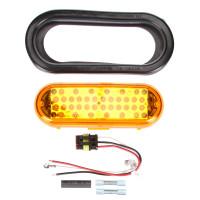 LED Model 60 Strobe Grommet Mount Kit 60120Y Components