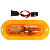 LED 60 Side Turn Signal and Marker Flange Kits 60117Y Components