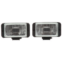 Clear Halogen Fog Light Kit 80526 Front View