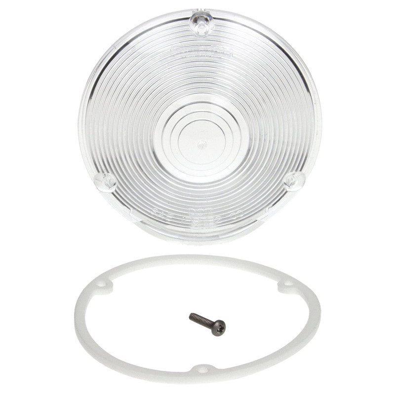 """4"""" Round Replacement Acrylic Lens Kit 9021W Kit"""
