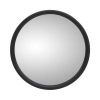 Small Flat Glass Mirror Head White