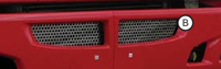 Kenworth T660 Lower Replacement Punch Grill By RoadWorks