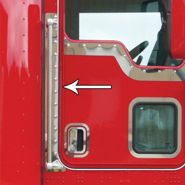 Kenworth T660 Grab Handle Trim With Dimples By Roadworks