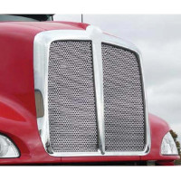 Kenworth T660 Punch Grill Stainless Steel Insert