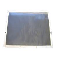 Peterbilt 359 Belmor Bug Screen Aluminum w/ Silver Mesh