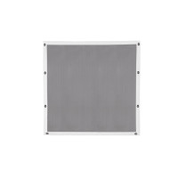 Peterbilt 357 375 377 378 379 Short Nose Belmor Bug Screen Aluminum w/ Silver Mesh