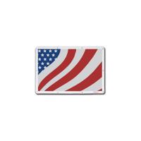 Peterbilt 379 Belmor Bug Screen Fiberglass Stylized American Flag