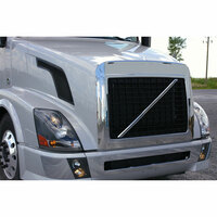 Volvo VNL 630 670 730 780 Wrap Around Bug Shield