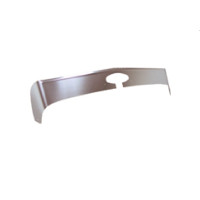 Peterbilt 384 386 Stainless Steel Aeroshield