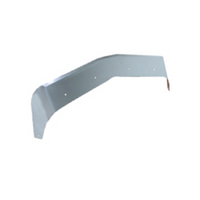 Kenworth T600 Stainless Steel Aeroshield Angle View