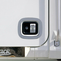 Mack Granite Vision & Pinnacle Series Handle Trim On Truck Close View