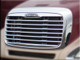 Freightliner Columbia Chrome Grill With Bugscreen A17-15107-000 Installed
