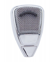 Chrome A'636 C.B. Microphone Plain Cover w/o Visor