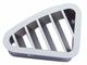Peterbilt 2001-2005 Chrome Plastic Defroster A/C Driver Vent