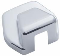 International Chrome Plastic Hood Latch Cover Pair