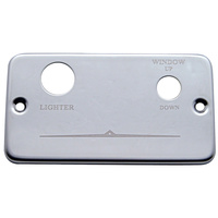 Freightliner Lighter/Window Right Plate Replacement