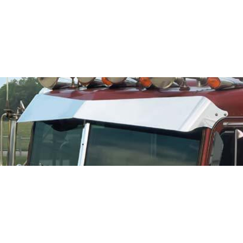 Peterbilt 359 Blind Mount Monster Drop Bow-Tie Visor  sc 1 st  Raneys Truck Parts & Peterbilt 359 Blind Mount Monster Drop Bow-Tie Visor By Roadworks ...