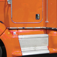 Peterbilt 386 Cab Panels With Fairings & 10 Small Infinity Amber LEDs