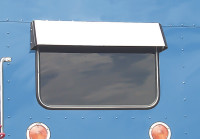 Kenworth Rear Sleeper Window Drop Visor
