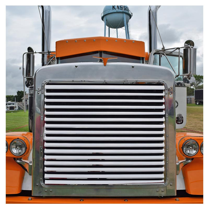 Peterbilt 379 Extended Hood Grill 16 Louvers Raney S