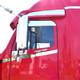 Freightliner Century/Columbia Chop Top Door Trim Stainless Steel
