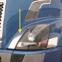 Volvo VN Stainless Steel Fender Guards