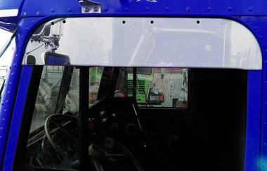 Freightliner Classic Fld Chop Top Door Trim 5 Quot Stainless