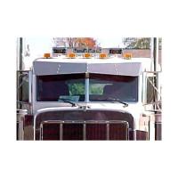 Peterbilt 379 388 389 Standard Cab Bowtie Drop Visor