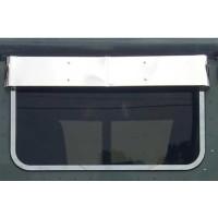 Peterbilt Rear Window Drop Visor
