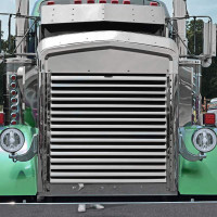 Kenworth W900L Replacement Stainless Steel Grill Front