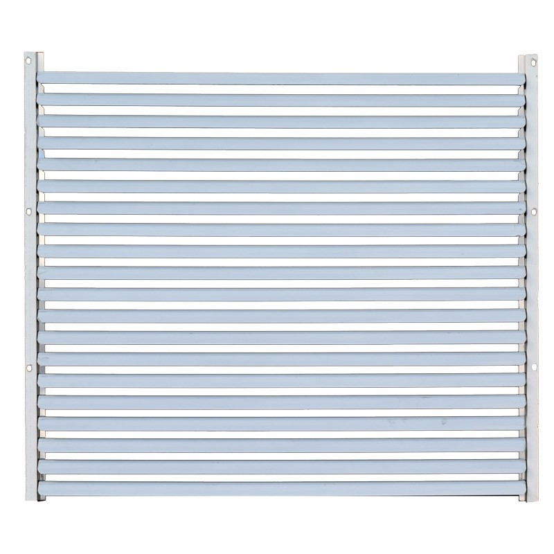 Kenworth W900B Louvered Grill Stainless Steel