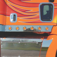 Peterbilt 387 Cab Panels For Sleeper Trucks