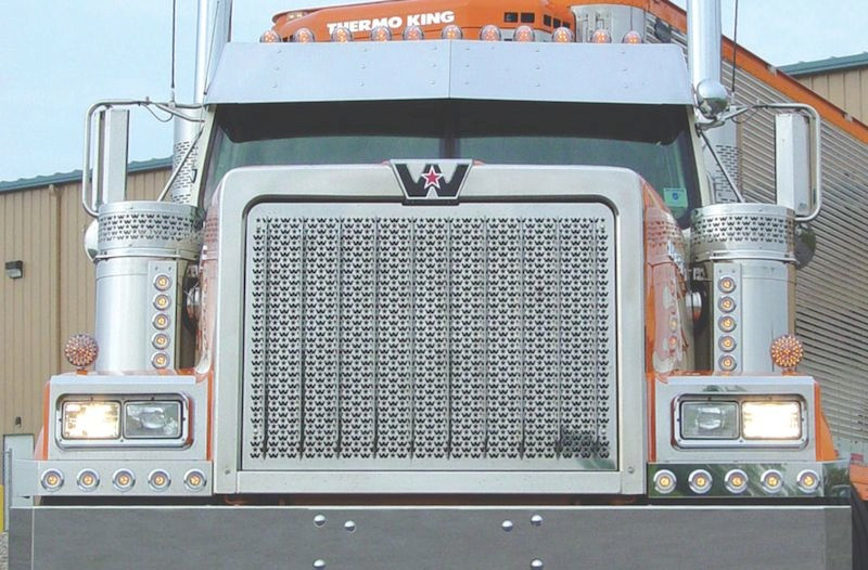 Western Star 4900 Punched Grill Insert