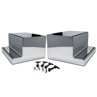 Peterbilt Battery or Tool Box Covers with Mirror Finish