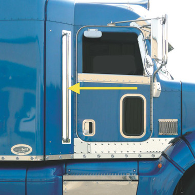 Peterbilt 384 386 Cab Entry Grab Handle Trims By Roadworks