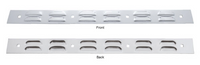 """Louvered Top Mud Flap Plate 2"""" x 24"""""""